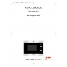 AEG MC 1761 EA Solo Built-in Microwave