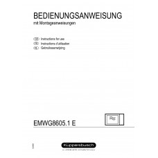 Kuppersbusch EMWG 8605.0 Solo Built-in Microwave