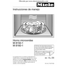 Miele M 8150 X Solo Built-in Microwave