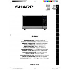 Sharp R-240 IN Solo Microwave